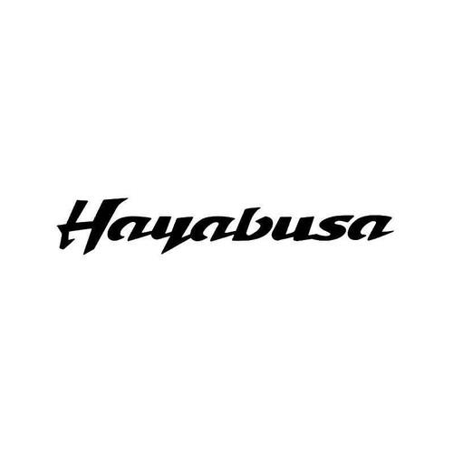 Suzuki Hayabusa 1 Vinyl Sticker