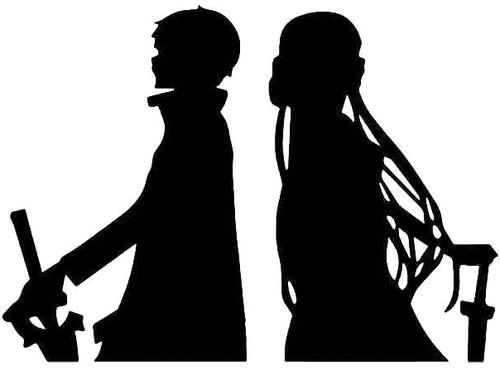 Kirito Asuna Sword