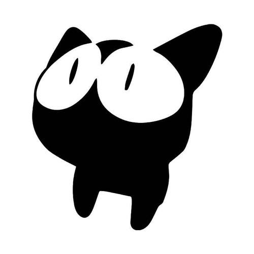 Takkun Kitty Cat Vinyl Sticker
