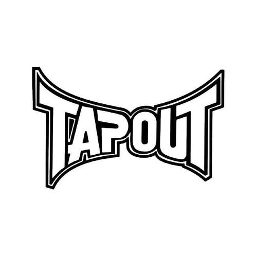 Tapout Logo Vinyl Sticker