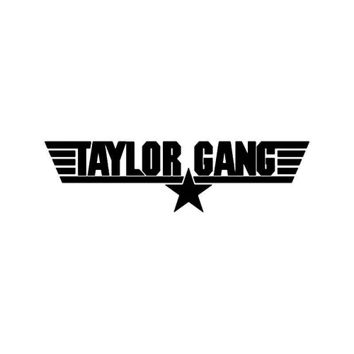 Taylor Gang Tgod Tgoe Vinyl Sticker