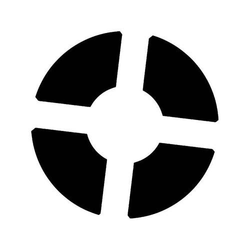 Team Fortress 2 Spy Logo Vinyl Decal Sticker