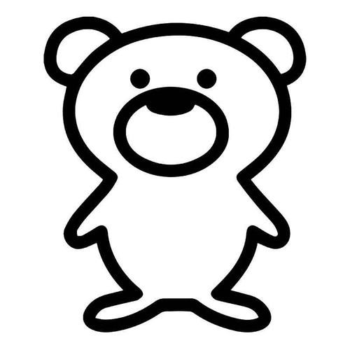 Teddy Bear Vinyl Sticker