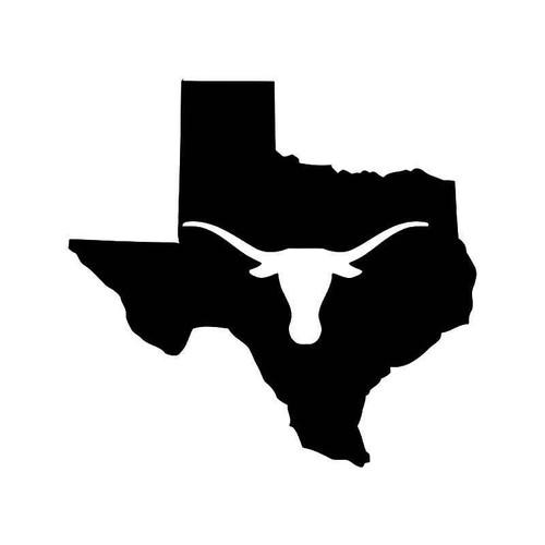 Texas State Longhorn Vinyl Sticker