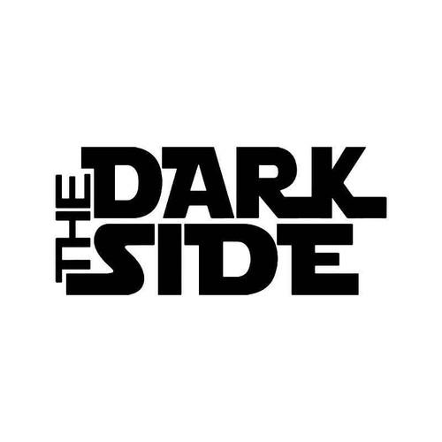 The Dark Side Star Wars Vinyl Sticker