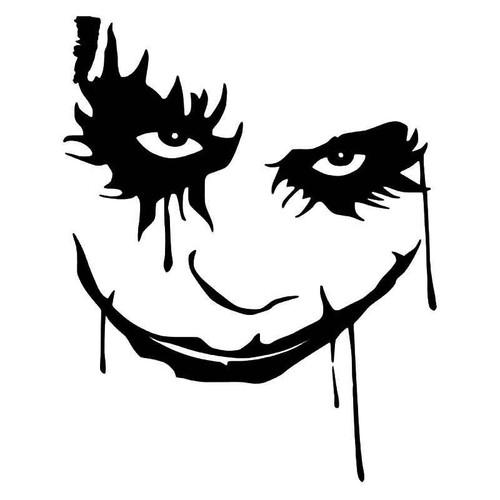 The Joker Face Madk 3 Vinyl Sticker