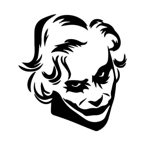 The Joker Face Mask 2 Vinyl Sticker