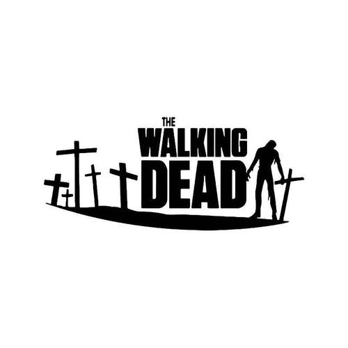 The Walking Dead Zombies Vinyl Sticker