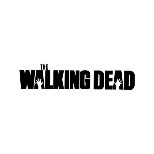 The Walking Dead Zombies Apocalypse Vinyl Sticker