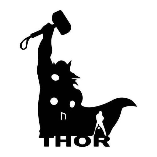 Thor Avengers 3 Vinyl Sticker