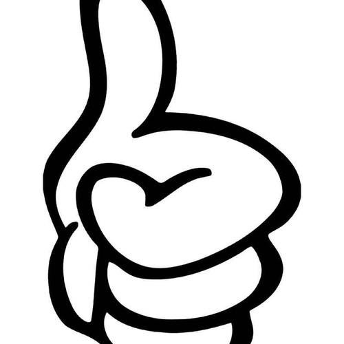 Thumb Up Like Jdm Japanese Vinyl Sticker
