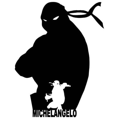 Tmnt Michelangelo Vinyl Sticker