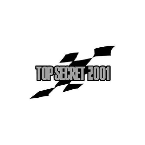 Top Secret Wheel S (Ultra Rare Style) Vinyl Sticker