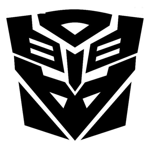 Transformers Ancient Transformer Symbol Or Stencil Vinyl Sticker