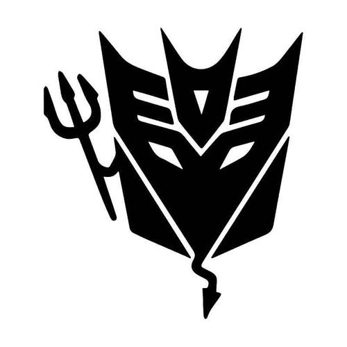 Transformers Decepticon Devil Vinyl Sticker