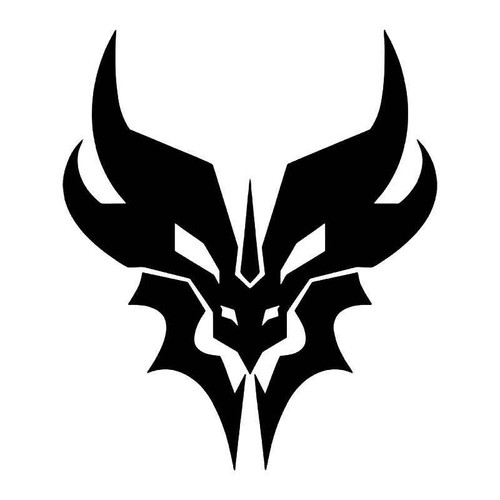 Transformers Predacon Vinyl Sticker