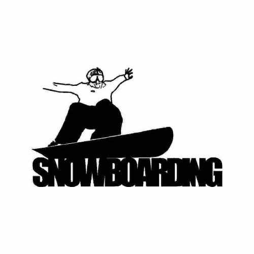 Sports Snowboarding  Vinyl Decal Sticker  Size option will determine the size from the longest side Industry standard high performance calendared vinyl film Cut from Oracle 651 2.5 mil Outdoor durability is 7 years Glossy surface finish