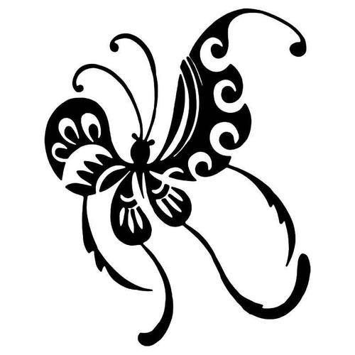 Tribal Butterfly 15 Vinyl Sticker