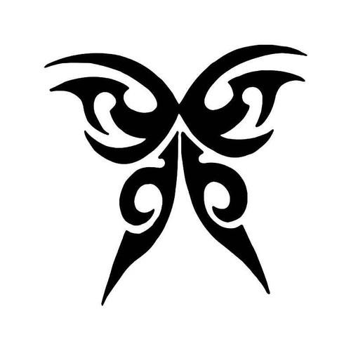 Tribal Butterfly 16 Vinyl Sticker