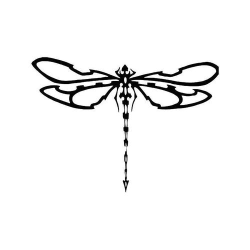 Tribal Dragonfly 2 Vinyl Sticker