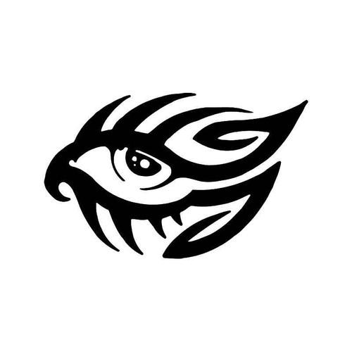 Tribal Eyes 2 Vinyl Sticker