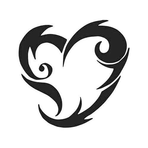 Tribal He Love Symbol Vinyl Sticker