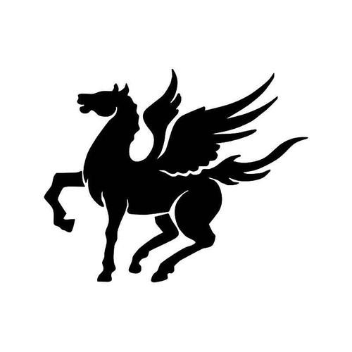 Tribal Pegasus Horse 1 Vinyl Sticker