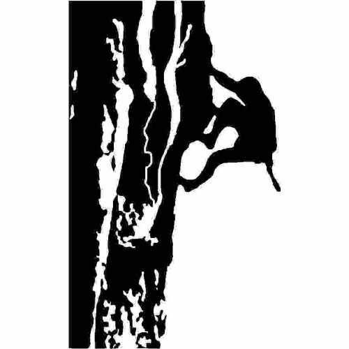 Sports Rock Climbing  Vinyl Decal Sticker  Size option will determine the size from the longest side Industry standard high performance calendared vinyl film Cut from Oracle 651 2.5 mil Outdoor durability is 7 years Glossy surface finish