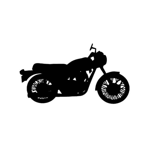 Triumph Bonneville Motorcycle Vinyl Sticker