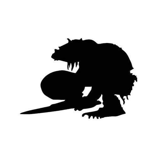 Troll Warrior Gaming Vinyl Sticker