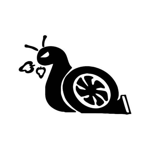 Turbo Snail Boost Nos Jdm Japanese 1 Vinyl Sticker