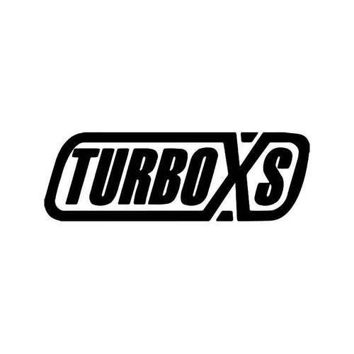 Turbo Xs Vinyl Sticker