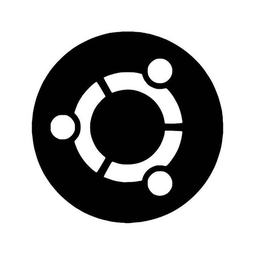 Ubuntu Linux Logo Vinyl Sticker
