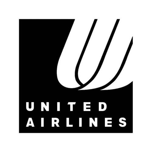 United Airlines Logo 2 Vinyl Sticker