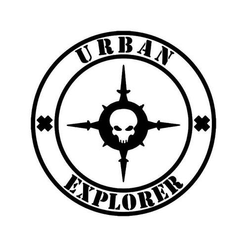 Urban Explorer Vinyl Sticker