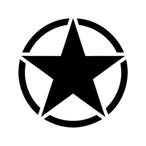 Us Army Star 1 Vinyl Sticker