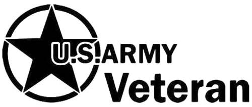 US Army Veteran Star