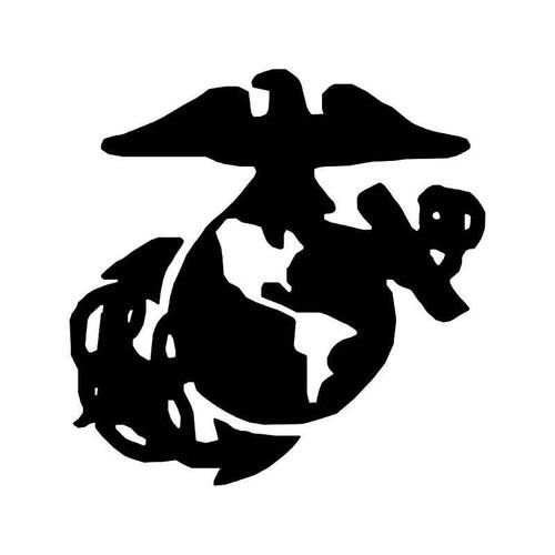Us Marine Insignia Vinyl Sticker