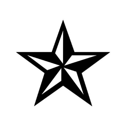Volcom Nautical Star Logo 1 Vinyl Sticker