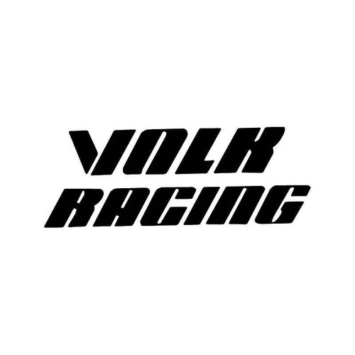 Volk Racing Wheel 1 Vinyl Sticker