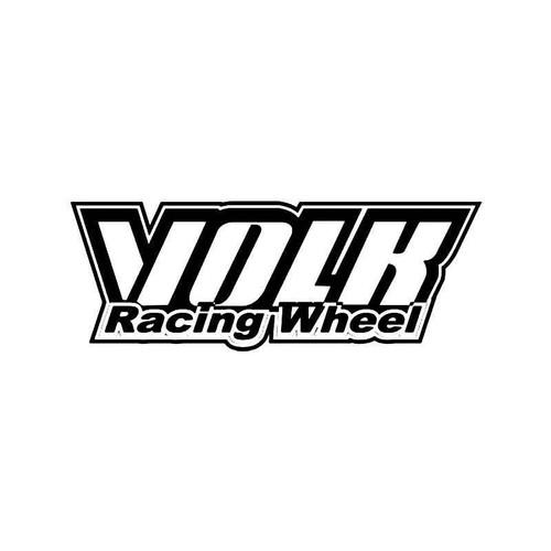 Volk Racing Wheel 3 Vinyl Sticker