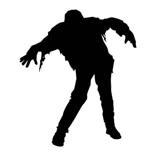 Walking Dead Zombie 1 Vinyl Sticker