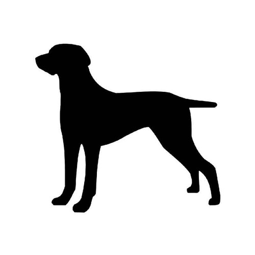 Weimaraner Dog 1 Vinyl Sticker