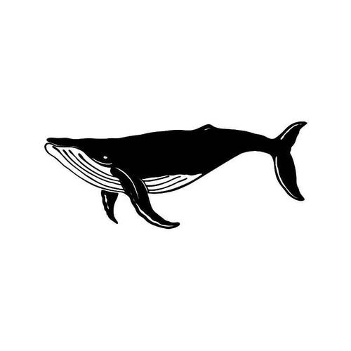 Whale Fish 1 Vinyl Sticker