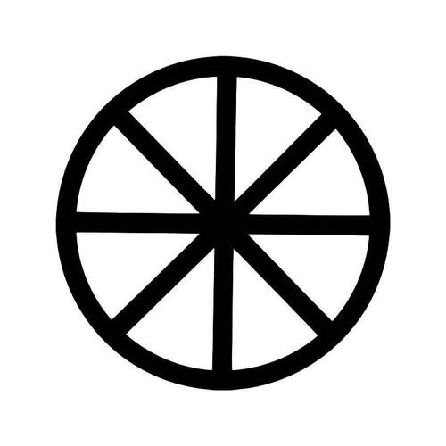 Wheel Of The Year Pagan Wicca Symbol Vinyl Sticker