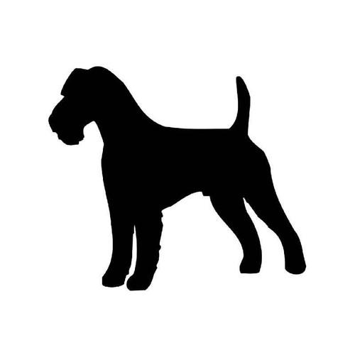 Wire Fox Terrier Dog Vinyl Sticker