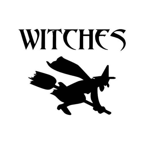 Witches Vinyl Sticker