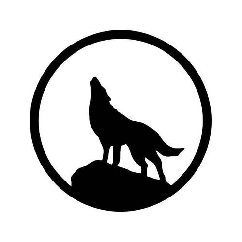 Wolf 4 Vinyl Sticker