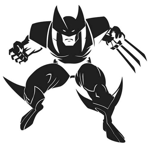 Wolverine 346 Vinyl Sticker