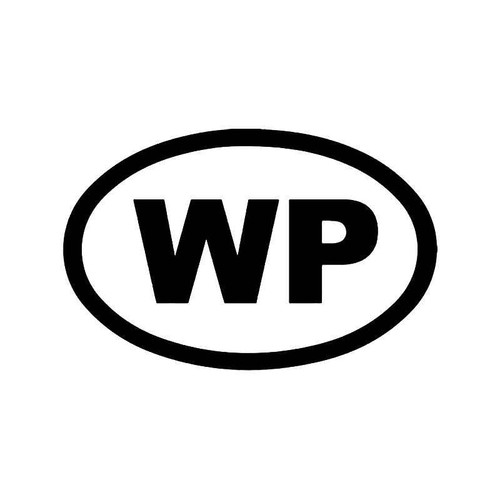Wp Widespread Panick Vinyl Sticker